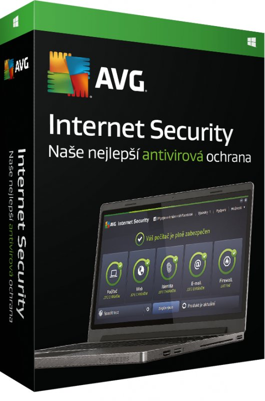 AVG Internet Security for Windows 5 PCs (1 year) - obrázek produktu
