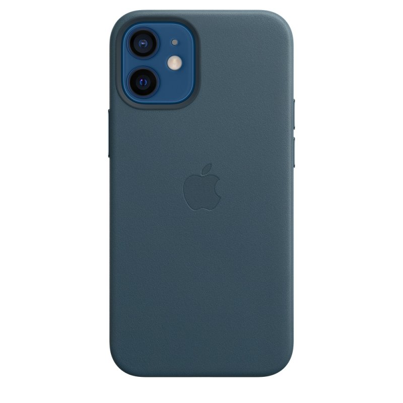 iPhone 12 mini Leather Case with MagSafe B.Blue - obrázek produktu