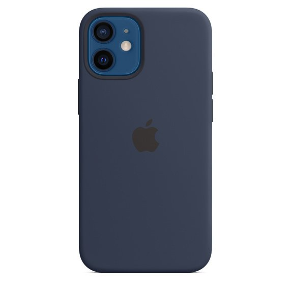 iPhone 12 mini Silicone Case with MagSafe D.Navy - obrázek produktu