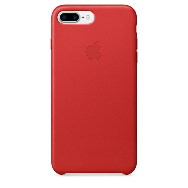 iPhone 7 Plus Leather Case - Red - obrázek produktu