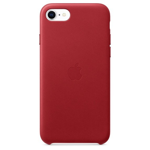 iPhone SE Leather Case - (PRODUCT)RED - obrázek produktu