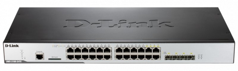D-Link DWS-3160-24TC Unified Switch with 4 Combo - obrázek č. 1