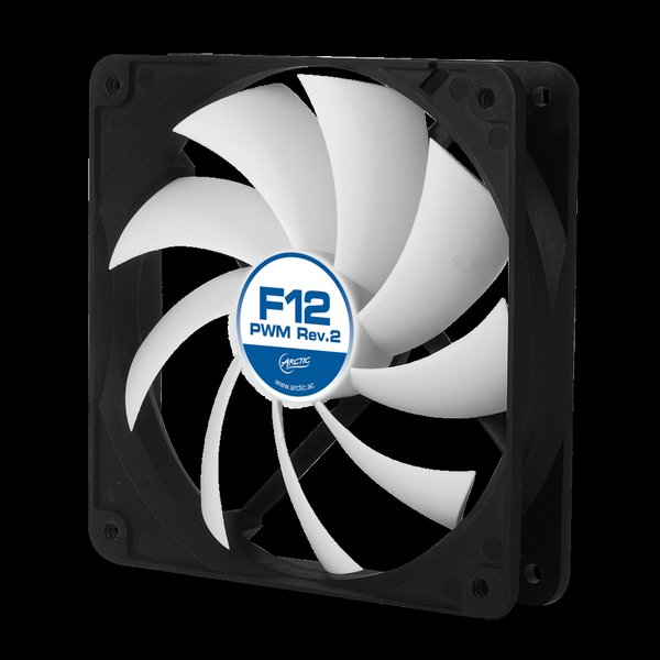 ARCTIC F12 PWM Rev.2 120mm case fan with PWM - obrázek produktu