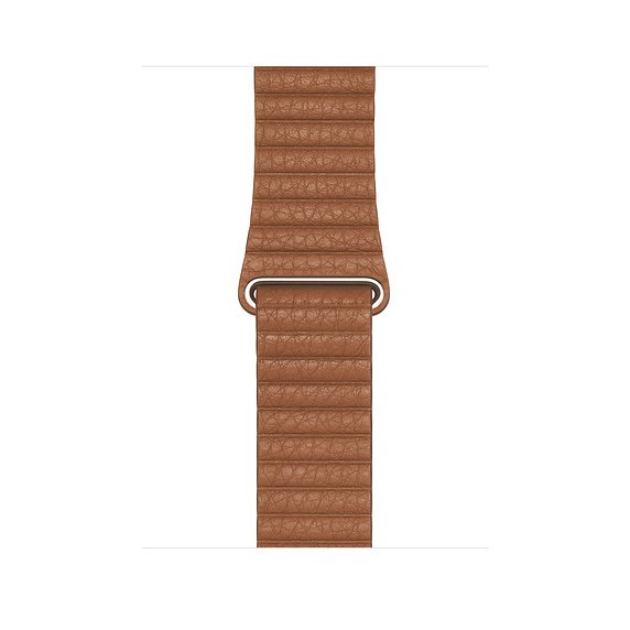 Watch Acc/ 44/ Saddle Brown Leather Loop - Large - obrázek produktu