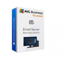AVG Email Server Business Edition, 40 mbx. / 12 m.  (MSBEN12DCZS040)