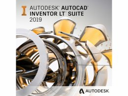 Autocad Inventor LT Suite 2020 Commercial New Single-user ELD 1-Year Subscription  (596L1-WW8695-T548)