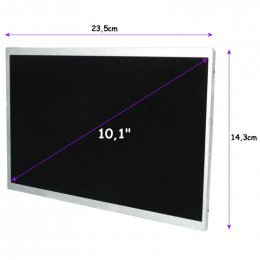 "Qoltec LED displej 10.1"" 1024*600 GLOSSY  - 40Pin, GRADE A+  (7126.LED_10.1_G)"