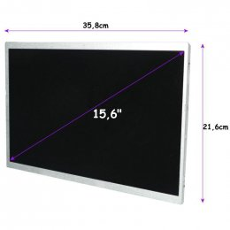 "Qoltec LED 15.6"" 1366*768 GLOSSY Slim - 30Pin, GRADE A+  (50891)"