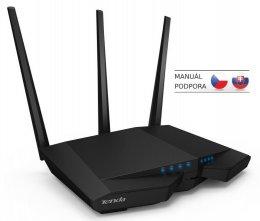 Tenda AC18 WiFi AC Router 1900Mb/ s, 1x USB3.0, 1x GWAN, 4x GLAN,DLNA / FTP/ VPN/ Print/ Media server  (AC18)