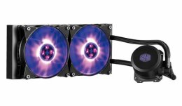 vodní chladič Cooler Master MasterLiquid ML240L RGB, univ. socket, 240mm PWM fan  (MLW-D24M-A20PC-R1)