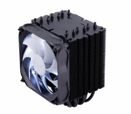 FSP/ Fortron Chladič CPU Windale 6 Cooler AC602, 6 Heat-Pipe, 240W TDP, 120 mm PWM white LED  (POO0000003)