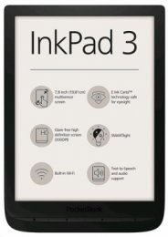 E-book POCKETBOOK 740 Inkpad 3, Black  (PB740-E-WW)