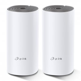 TP-Link AC1200 Whole-home Mesh WiFi System Deco E4(2-pack), 2x10/ 100 RJ45  (Deco E4(2-pack))