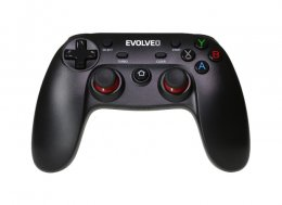 EVOLVEO Fighter F1, bezdrátový gamepad pro PC, PlayStation 3, Android box/ smartphone  (GFR-F1)