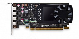 ThinkStation Nvidia Quadro P1000 4GB GDDR5 Mini DP * 4 Graphics Card with HP Bracket  (4X60N86661)