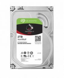 HDD 2TB Seagate IronWolf 64MB SATAIII 5900rpm NAS  (ST2000VN004)