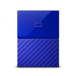 "Ext. HDD 2,5"" WD My Passport 2TB USB 3.0 modrý"