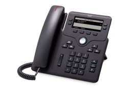 Cisco IP Phone CP-6851-3PW-CE-K9= with power adapter  (CP-6851-3PW-CE-K9=)