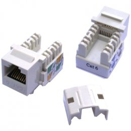 DATACOM Keystone cat6 white UTP  (4030)