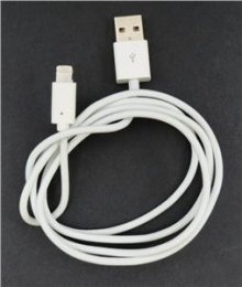 MD818 iPhone 5 Lightning Datový Kabel White (Bulk)  (8592118064996)