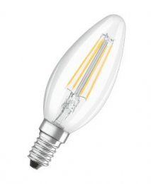 Osram LED žárovka E14  4,0W 2700K 470lm Value Filament B-svíčka  (4058075819672)
