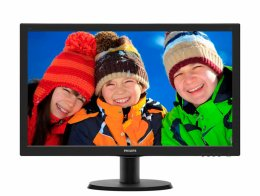 "24"" LED Philips 243V5LHSB - FHD, HDMI, DVI  (243V5LHSB/00)"
