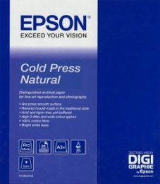 "EPSON Cold Press Natural Paper, roll 44"" x 15,2m  (C13S042305)"