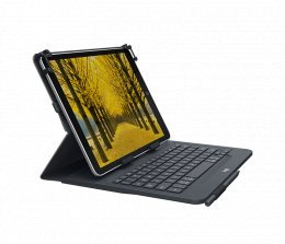Logitech Universal Folio with integrated keyboard for 9-10 inch tablets - N/ A - UK - BT - N/ A - INTN  (920-008341)