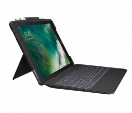 Logitech SLIM COMBO for iPad Pro 12.9 inch (1st and 2nd generation) - black  (920-008440)