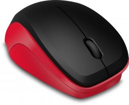 Obrázek LEDGY Mouse - Wireless, Silent, black-red