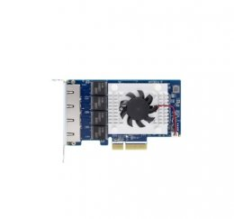 QNAP quad-port 5GbE multi-Gig expansion card,Aquantia AQC111C,Gen3 x 4,low profile  (QXG-5G4T-111C)