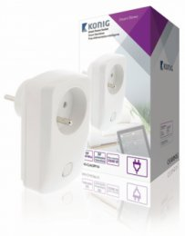 Smart Wall Plug On / Off - Francie / Typ E (CEE 7/6) (SAS-CLALSPF10)  (SAS-CLALSPF10)