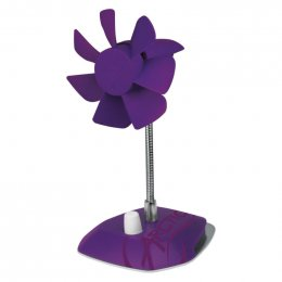 Obrázek ARCTIC Breeze Color Edition PURPLE - USB desktop fan