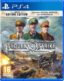 Obrázek PS4 - Sudden Strike 4 Limited Day One Edition