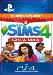 PS4 - THE SIMS 4 + CATS & DOGS  (5035225123338)