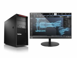 Lenovo ThinkStation P520c TWR/ W-2123/ 16GB/ 256SSD/ DVD/ W10P + Sleva 75€ na bundle s monitorem!  (30BX000MMC)