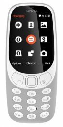 Nokia 3310 Single SIM 2017 Grey  (A00028218)