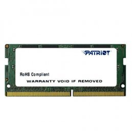 SO-DIMM 8GB DDR4-2400MHz Patriot CL17 1024x8  (PSD48G240081S)