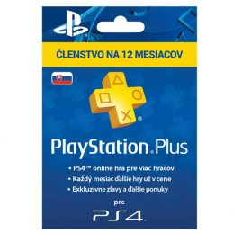 PlayStation Plus Card Hang 365 Day pro SK PS Store  (PS719800552)