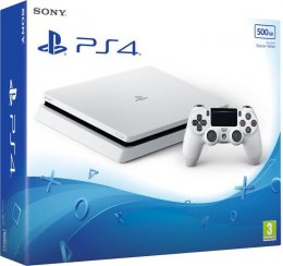 PS4 - Playstation 4 500GB White/ F chassis  (PS719755517)