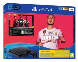 PS4 - Playstation 4 1TB F Slim + FIFA20 + DS4  (PS719976400)