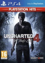PS4 - Uncharted 4: A Thief`s End HITS  (PS719418672)