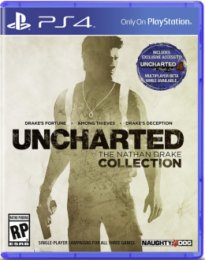 PS4 - Uncharted THE NATHAN DRAKE COLLECTION HITS  (PS719711414)