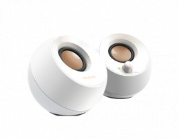 Speaker CREATIVE Pebble USB, 2.0, white  (51MF1680AA001)