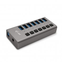 Obrázek i-tec USB 3.0 Charging HUB 7port + Power Adapter 36W