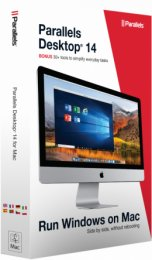 Parallels Desktop 14 for Mac Retail Box 1 yr EU