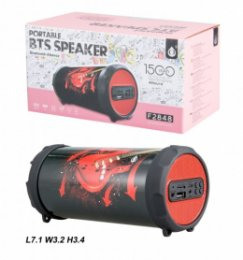 Bluetooth Port.Speaker PLUS Mini F2848, Red Guitar  (2400172)