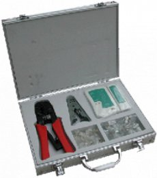 NETWORK KIT (TESTER, krimp 8p+6p, Stripper, plugy)  (4590)