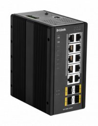 D-Link DIS-300G-14PSW Industrial Gigabit Managed PoE Switch with SFP slots  (DIS-300G-14PSW)