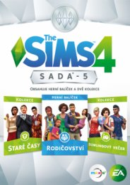 PC CD - The Sims 4 bundle pack 5  (5030934121866)
